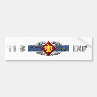 INFANTRY 11B 45th Infantry Brigade Combat Team Car Bumper Sticker