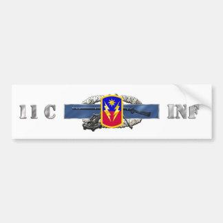 INFANTRY 11C 40th Infantry Brigade Combat Team Bumper Sticker