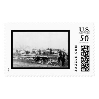Infantry and Camp in Tenallytown 1864 Postage