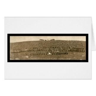 Infantry Camp Devens Photo 1918 Card