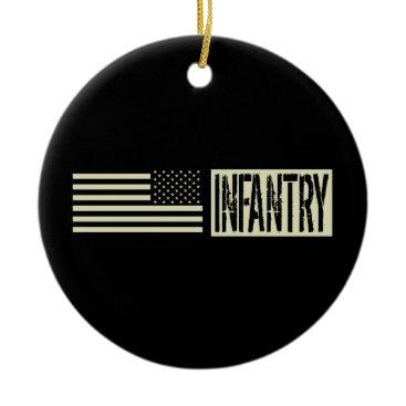 Infantry Ceramic Ornament