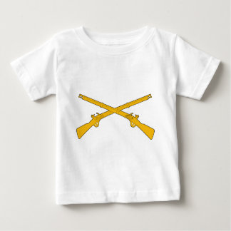 Infantry Crossed Rifles Baby T-Shirt