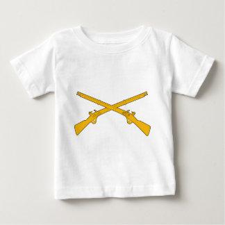 Infantry Crossed Rifles Infant T-shirt