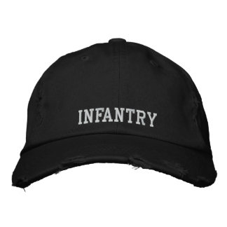 Infantry Embroidered Hat