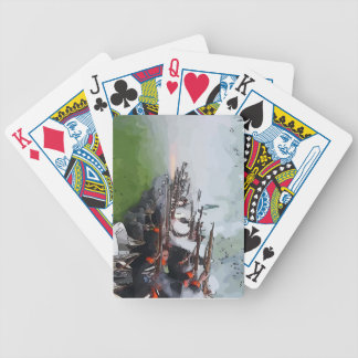 Infantry Firing Muskets Bicycle Playing Cards