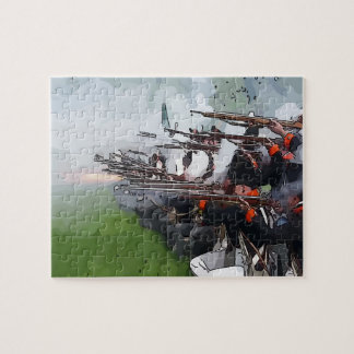 Infantry Firing Muskets Puzzle