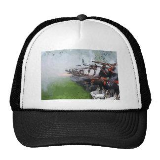 Infantry Firing Muskets Trucker Hat