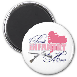Infantry Mom Fridge Magnets