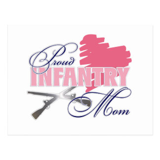 Infantry Mom Postcard