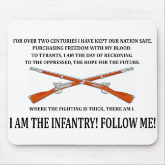 Infantry Mouse Pad