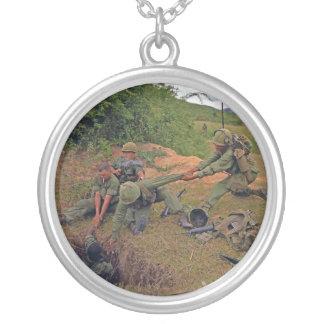Infantry Platoon in Operation Oregon Vietnam War Necklace