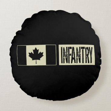 Infantry Round Pillow