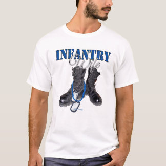 Infantry Wife Boots T-Shirt