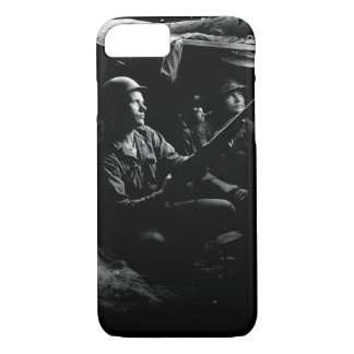 Infantrymen of the 27th Infantry Regiment_War Imag iPhone 8/7 Case