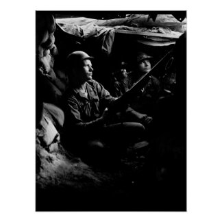Infantrymen of the 27th Infantry Regiment_War Imag Poster