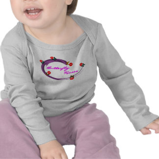 INFANT'S BUTTERFLY KISSES LONGSLEEVE T-SHIRTS
