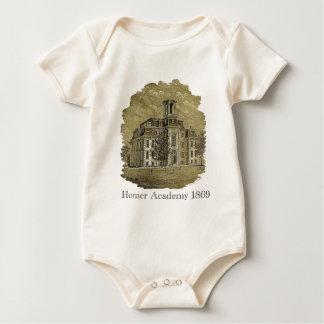 Infants Homer Academy Organic Cotton Creeper