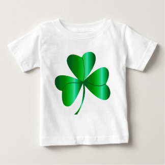 Infant's Tee with Shamrock.