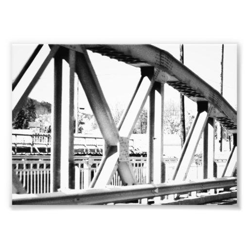 Infared Bridge Art Photo