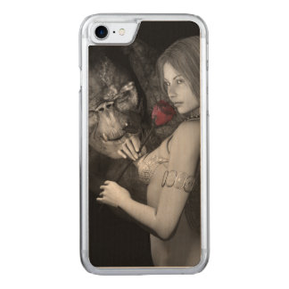 Infatuated  Roses Carved iPhone 8/7 Case