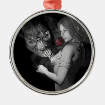 Infatuated  Roses Christmas Ornaments
