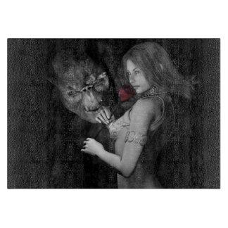Infatuated  Roses Cutting Board