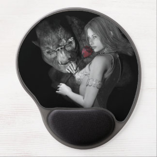 Infatuated  Roses Gel Mouse Pad