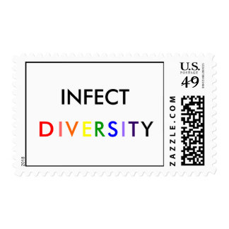 INFECT DIVERSITY POSTAGE