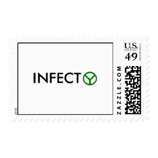 INFECT PEACE STAMPS