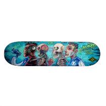 Infected & Injected - Sk8 Street Art Skateboard Deck