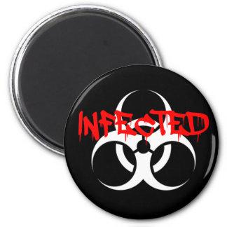Infected Fridge Magnet