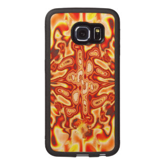 Infected Samsung Galaxy S6 Edge Wood Case