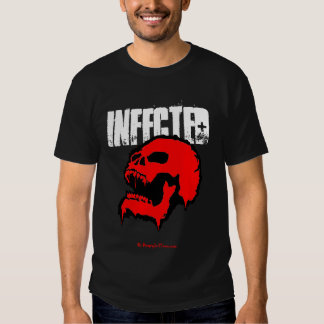 """""""INFECTED"""" ZOMBIE T-SHIRT"""