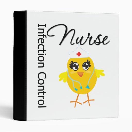 Infection Control Nurse Chick v1 3 Ring Binder