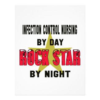 Infection control nursing by Day rockstar by night Letterhead