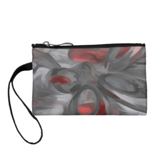 Infection Pastel Abstract Change Purse