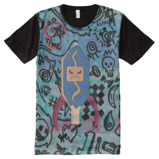 Infection ready to destroy. All-Over print t-shirt