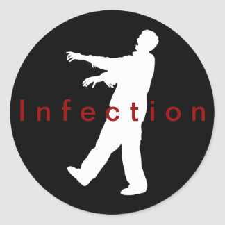 Infection stickers