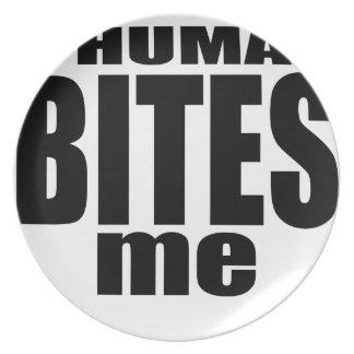 infection weird human bites become black tee morta dinner plate