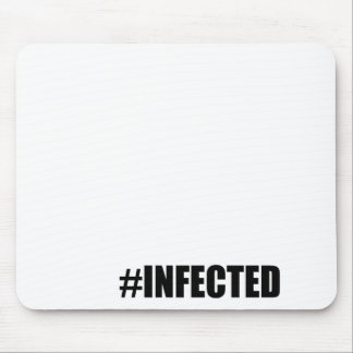 infection weird short hashtag become red tee morta mouse pad