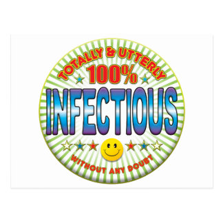 infectious Totally Postcard