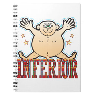 Inferior Fat Man Notebook