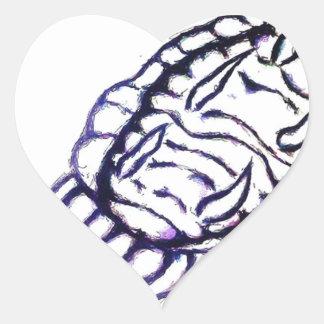 Inferior Posterior MRK-I Fukushima Daiichi Robot Heart Sticker