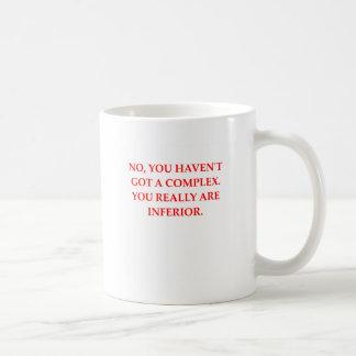 inferiority complex mugs