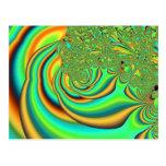 Inferna - fractal tarjetas postales