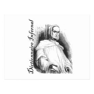 Infernal Dictionary - abbot? Postcard