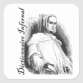 Infernal Dictionary - abbot? Square Sticker