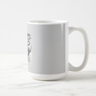 Infernal Dictionary - imp looking a bit nervous Classic White Coffee Mug