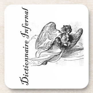 Infernal Dictionary - nice angel Drink Coaster