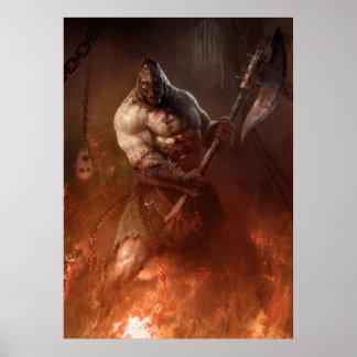 Infernal executioner póster